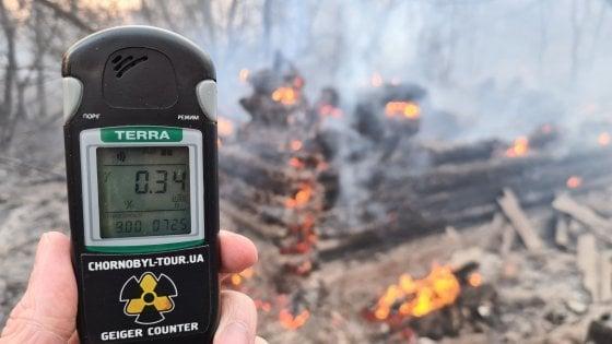 Incendio domato a Chernobyl ma c'è picco di radiazioni