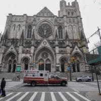 Coronavirus, la cattedrale di New York diventa un ospedale da campo