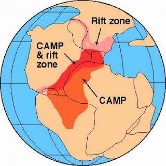 I livelli odierni CO2 simili a quelli dell'estinzione di massa del Triassico