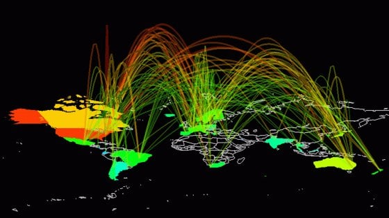 Coronavirus, impennata del traffico internet in Italia: +30% in un mese