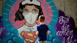 Un murale a Hamm, Germania (Ina Fassbender/AFP)