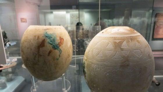 Le misteriose uova di struzzo di 5 mila anni fa