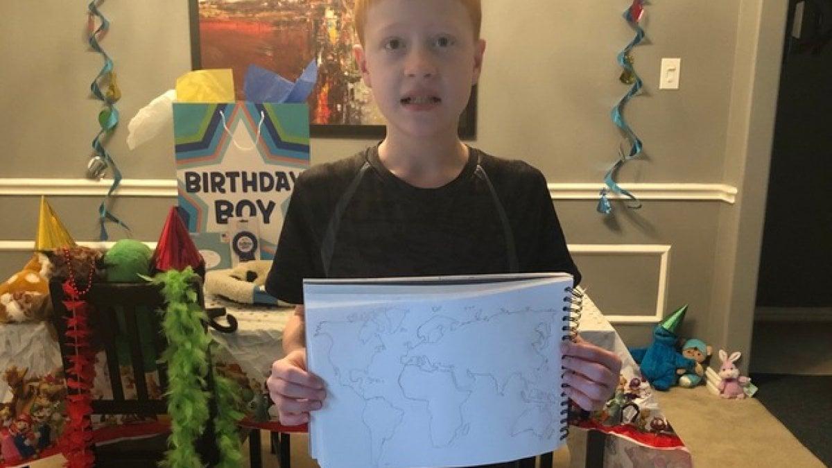 Sorprese Per Un Compleanno coronavirus, a casa per il compleanno dei suoi 12 anni: in