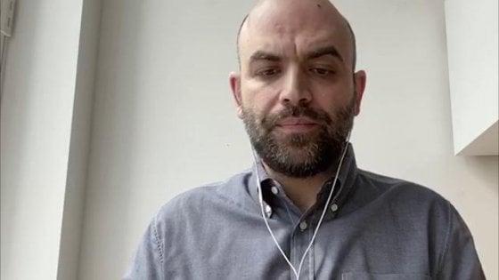 """Coronavirus, Saviano critica il modello Lombardia su Le Monde. Salvini lo attacca: """"Senza vergogna"""""""