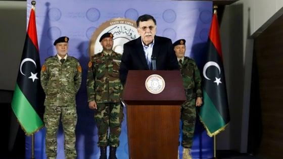 """Serraj: """"Con Haftar non negozierò più. La Libia non vuole un'altra dittatura"""""""