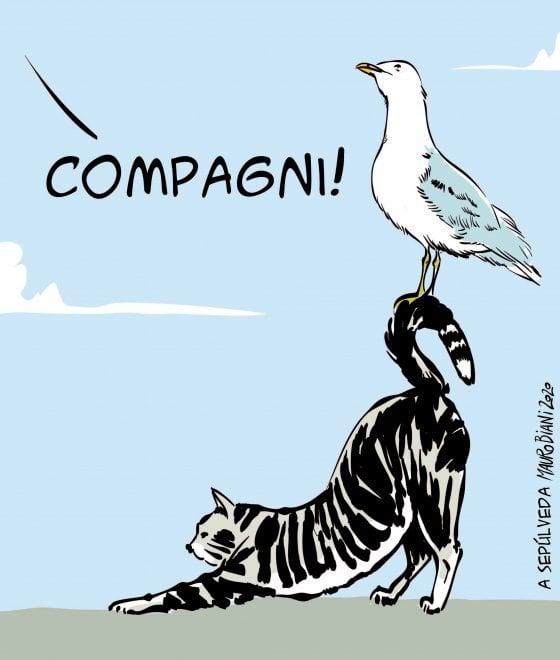 """A Sepúlveda"". La vignetta di Mauro Biani"