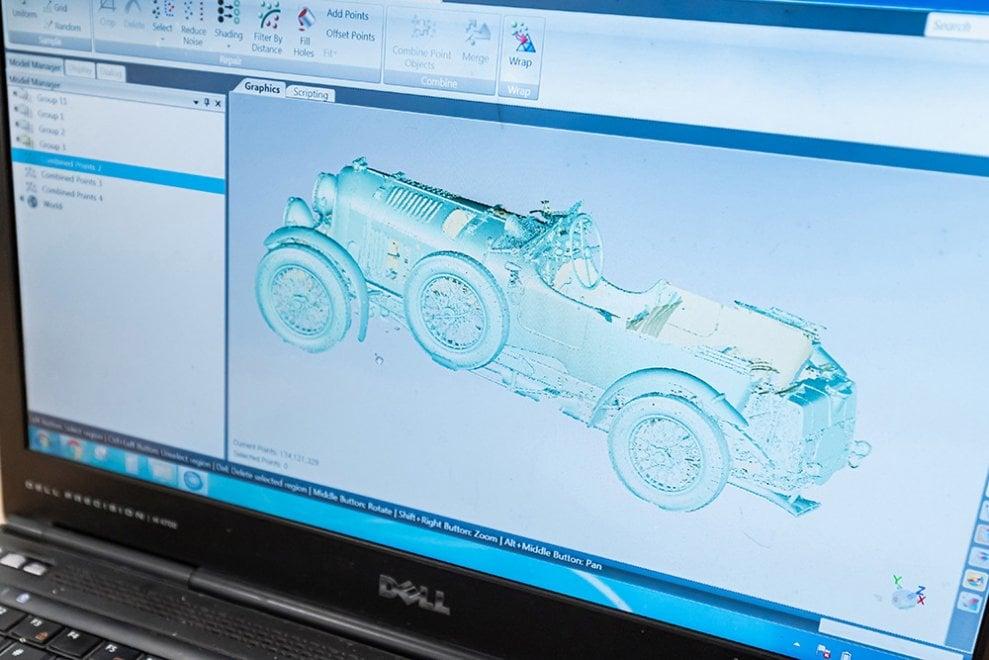 Bentley Birkin Blower, il mito di Le Mans diventa digitale