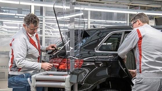 Audi, la produzione riprende, ma gradualmente