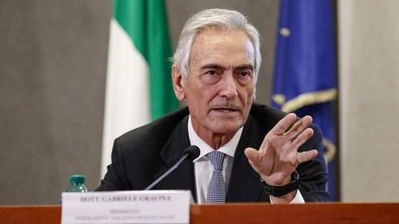 """Gravina: """"Stop sarebbe un disastro, ma non sarò io il becchino del calcio italiano"""""""