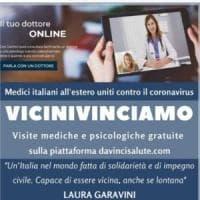 Coronavirus, la solidarietà di 90 medici italiani nel mondo: video consulenze da remoto...