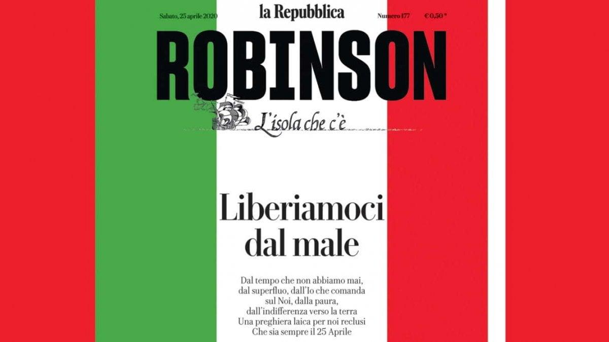 Robinson, liberiamoci dal male