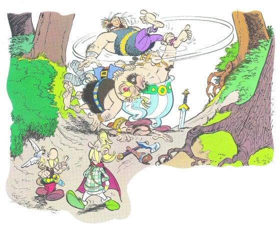 Il ritorno di Asterix: Albert Uderzo stava lavorando a un albo scritto da René Goscinny