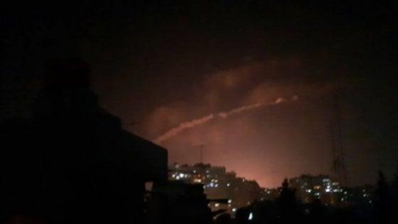 """Siria: """"Raid israeliano, attivata contraerea"""""""