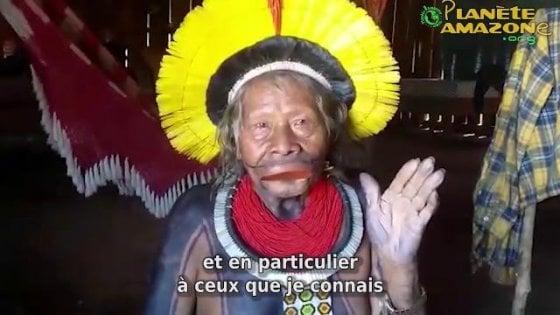 """Amazzonia, l'appello del capo indigeno: """"Non possiamo affrontare da soli questa pandemia"""""""