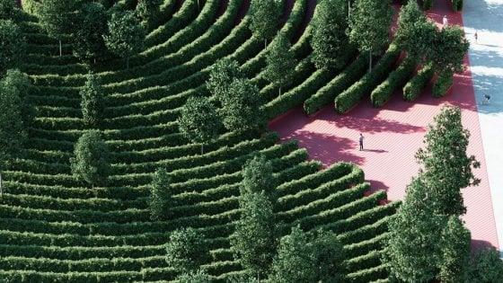 Un labirinto dove non ci si incontra mai: a Vienna il primo parco a prova di distanziamento sociale