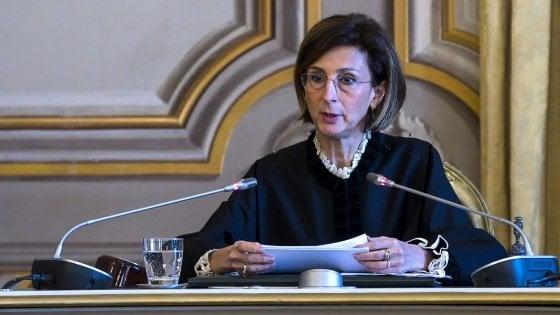 """Corte costituzionale, Cartabia: """"Io super partes, mai scesa nell'agone politico"""""""