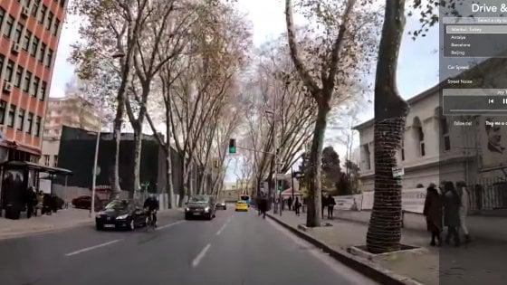 Itinerari on the road da sognare a casa; in un'app video e colonna sonora per rivivere le metropoli