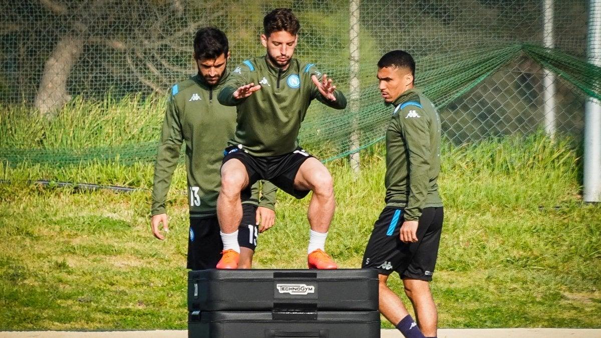 Napoli, ripresi gli allenamenti: portieri i primi a tornare in ...
