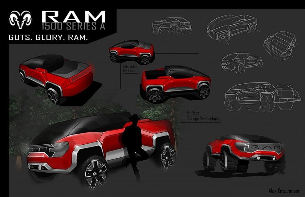 Dodge Ram, ecco i disegni dei vincitori del concorso Fca