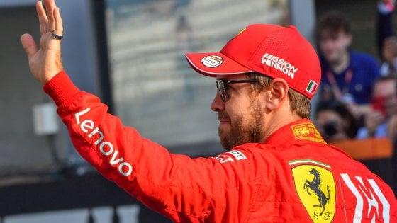 """Vettel lascia la Ferrari a fine stagione: è ufficiale. """"Non c'è più sintonia con la squadra"""""""
