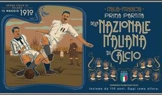 """La Nazionale compie 110 anni. Mancini: """"Simbolo di un Paese che sa rialzarsi"""""""