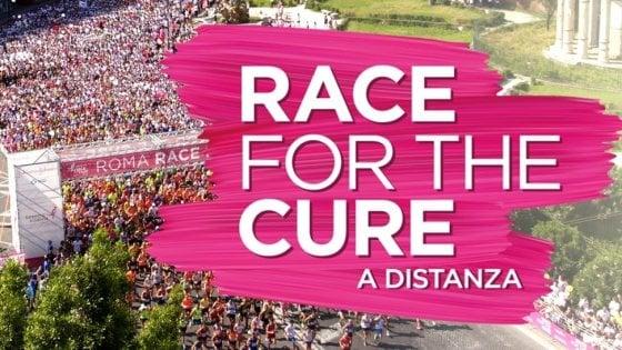 Race for the cure non si ferma. Live sui social il 17 maggio