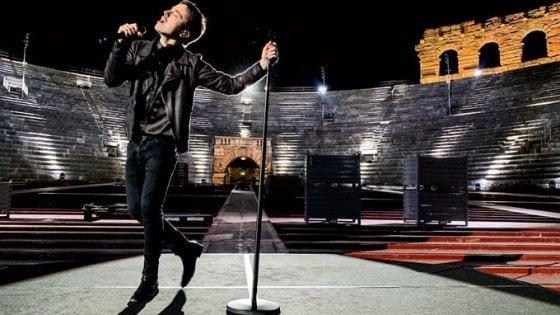 'Europe Shine a Light', Diodato fa risplendere l'Arena di Verona