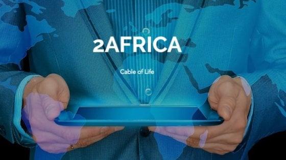 Internet, progetto 2Africa: 37.000 chilometri di fibra per il continente