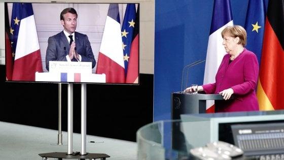 Intesa Francia-Germania sugli aiuti Ue: Recovery fund da 500 miliardi