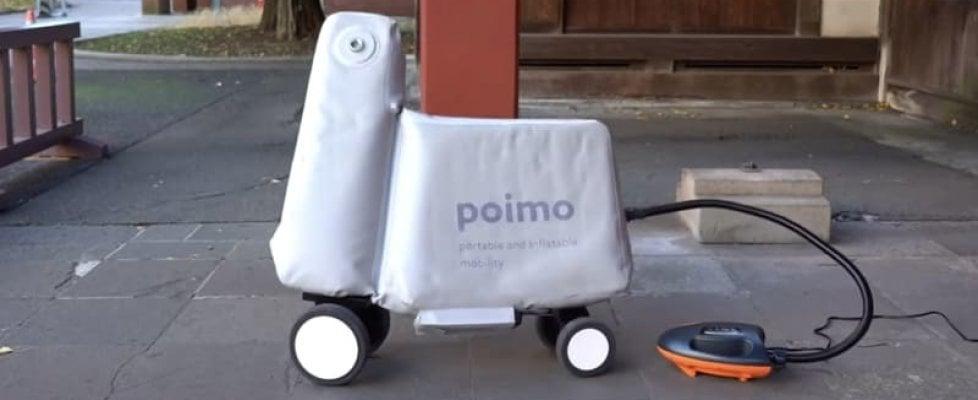 Sorpresa, arriva lo scooter gonfiabile