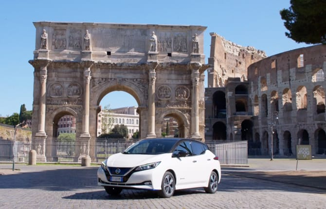 Nissan Leaf, sempre in movimento