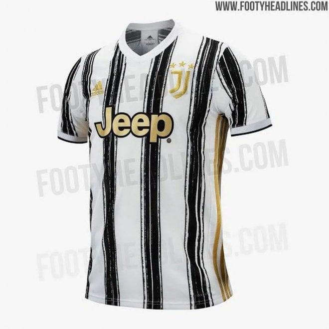 L'oro della Juve, lo zig zag dell'Inter: ecco come saranno le nuove maglie