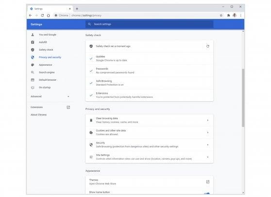 Privacy e sicurezza, i controlli di Chrome diventano più intuitivi