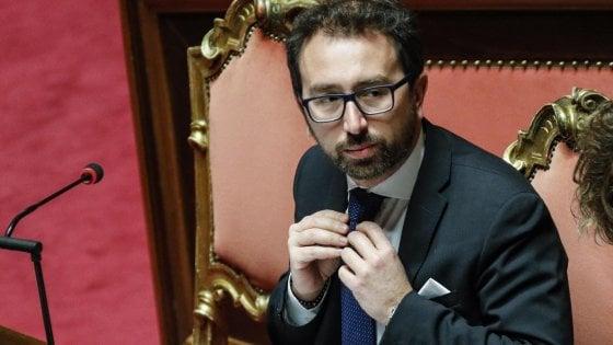 """Giustizia, Senato respinge le mozioni di sfiducia a Bonafede. Il ministro: """"Sono soddisfatto"""""""