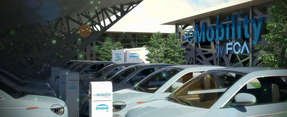 A Mirafiori l'impianto Vehicle-to-Grid (V2G) più grande del mondo