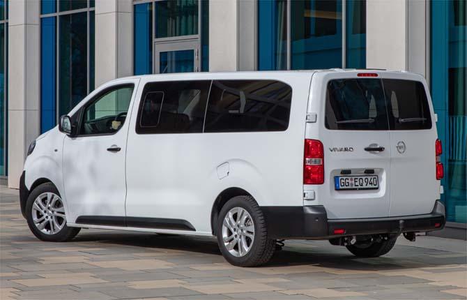 Nuovo Opel Vivaro Life, nato per viaggiare