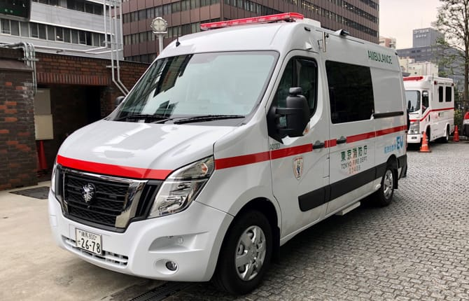 Nissan, arriva l'ambulanza a zero emissioni