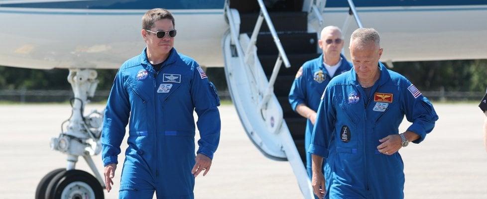 Tutto pronto per il primo volo umano dal suolo Usa dal 2011: astronauti a Cape Canaveral