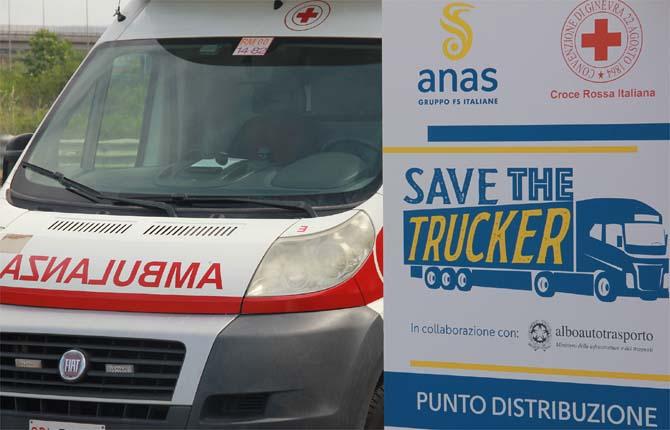 Anas e Cri insieme per la sicurezza degli autotrasportatori