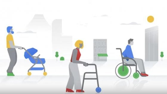 Google Maps segnala i locali accessibili in sedie a rotelle