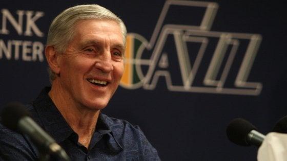 Basket, Nba in lutto: è morto Jerry Sloan, leggenda di Utah