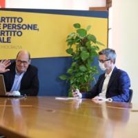 """Zingaretti: """"Serve la grande politica non quella degli sgambetti"""". Web, feste di strada,..."""