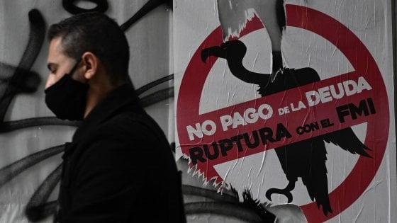 Argentina, scade il termine di pagamento dei creditori: è il nono default della sua storia