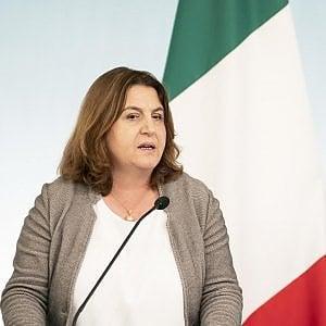 La ministra del Lavoro, Nunzia Catalfo