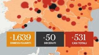 In Lombardia nessun decesso, ma i dati del giorno più atteso finiscono sotto verifica