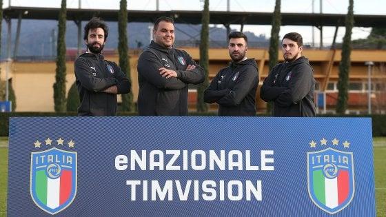 Europei di calcio alla Playstation, Italia campione