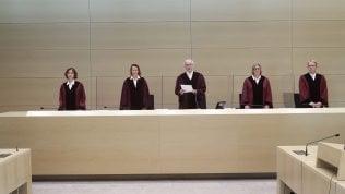 La lettura del verdetto