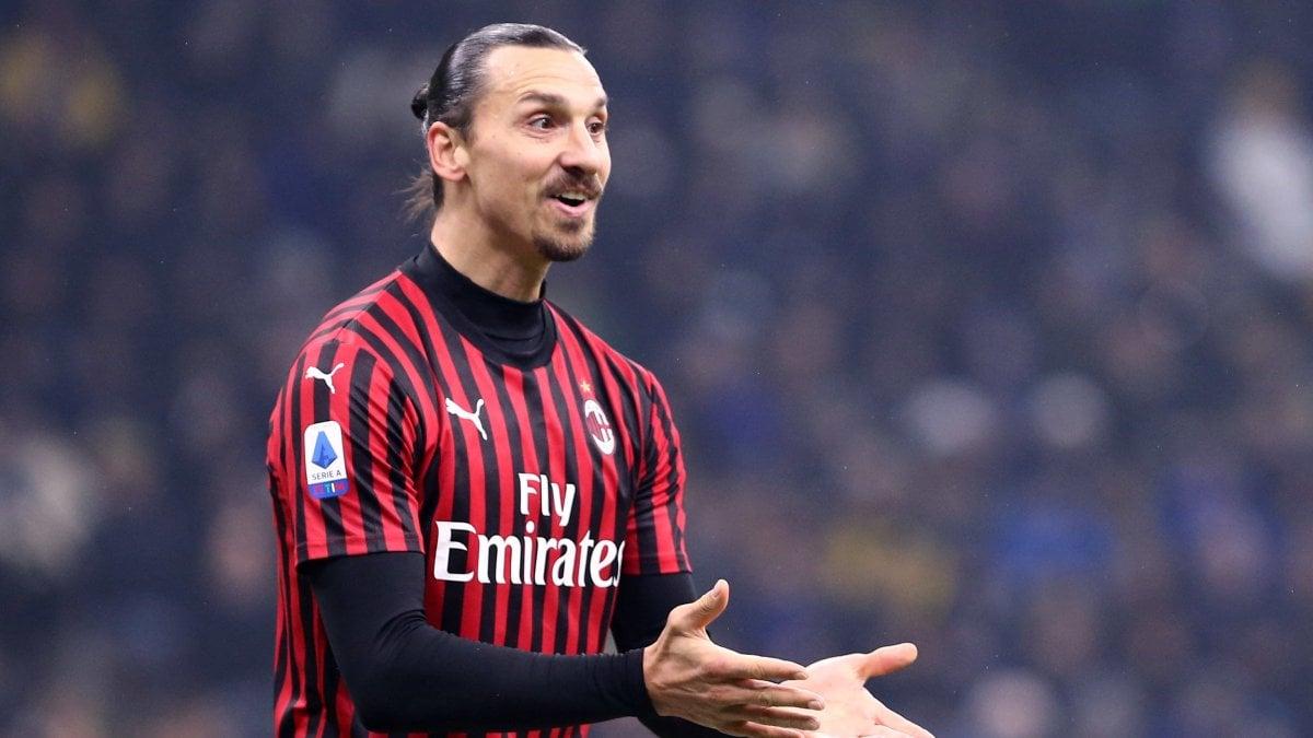 Milan, Ibrahimovic si fa male in allenamento: si teme un lungo stop