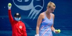 Guanti, mascherine e tutti a distanza: a Praga va in scena il tennis che verrà  Foto