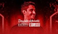 """Davide Moretti a Milano:  """"Ho voglia di imparare"""""""